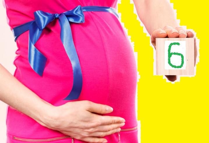 6 месяцев беременности – изменения в организме