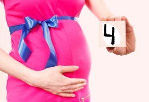 4 месяца беременности – что дальше?