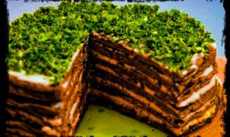 Как приготовить торт из печени