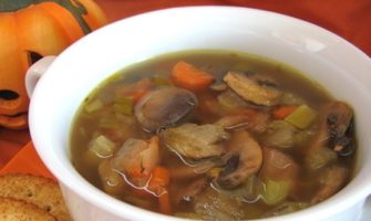 Как приготовить суп из маринованных шампиньонов?