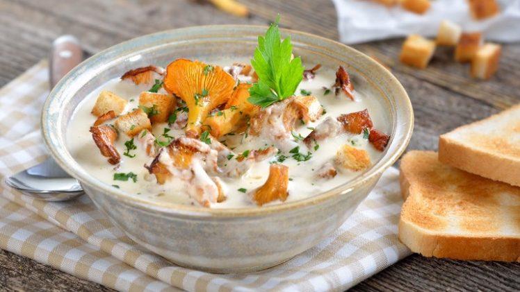 Как приготовить суп из лисичек?