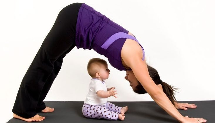 Год после родов как убрать живот?