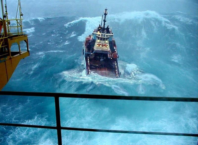 работа на море