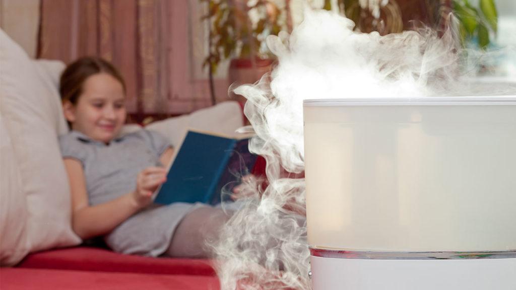Как увлажнить воздух в детской комнате?